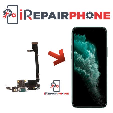 Cambiar Conector de Carga iPhone 11 Pro