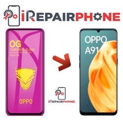 Protector de cristal templado Oppo A91