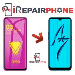 Protector de cristal templado  Oppo AX7