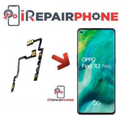 Cambiar Botones de Volumen y Silencio Oppo Find X2 Neo
