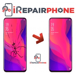 Cambiar Pantalla Oppo Find X