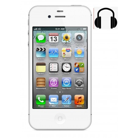Cambiar Jack Audio iPhone 4