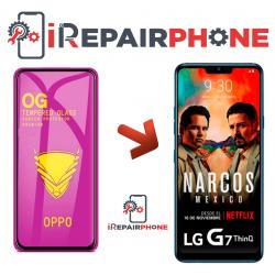 Protector de cristal templado LG G7