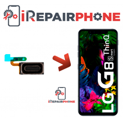 Cambiar Auricular de llamada LG G8S