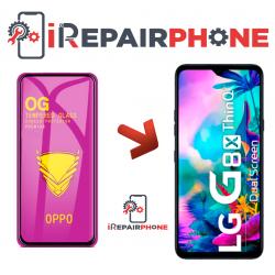 Protector de cristal templado LG G8X