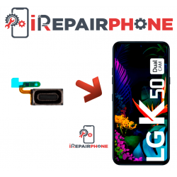 Cambiar Auricular de llamada  LG K50 LM-X520