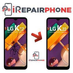 Cambiar Pantalla LG K22