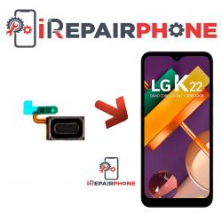 Cambiar Auricular de llamada LG K22