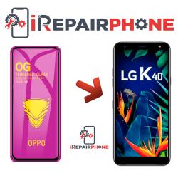 Protector de cristal templado LG K40