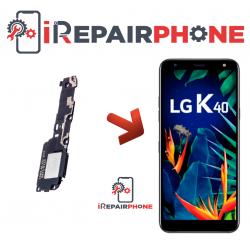 Cambiar Altavoz de música LG K40