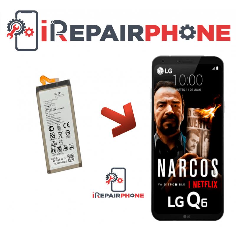 Cambiar Bateria LG Q6