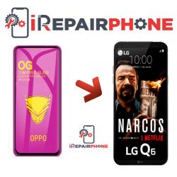 Protector de cristal templado LG Q6 Plus