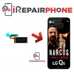 Cambiar Auricular de llamada  LG Q6 Plus
