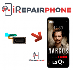 Cambiar Auricular de llamada LG Q7