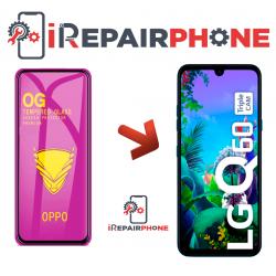 Protector de cristal templado LG Q60