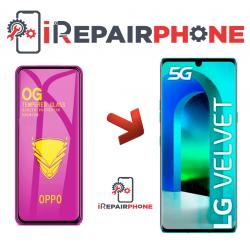 Protector de cristal templado LG VELVET 5G