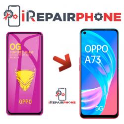 Protector de cristal templado Oppo A73 5G
