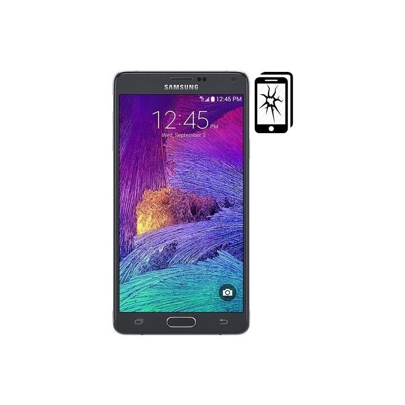 Cambiar Cristal Samsung Note 4