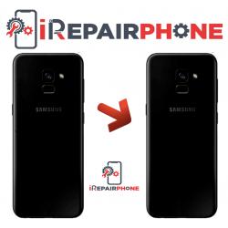 Cambiar tapa trasera Samsung Galaxy A8 Plus 2018