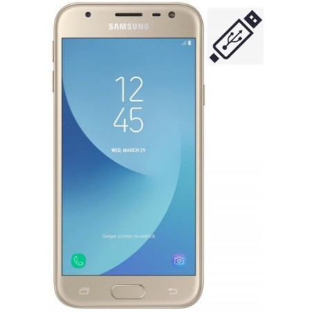 Cambiar Conector de Carga Samsung J3 2017