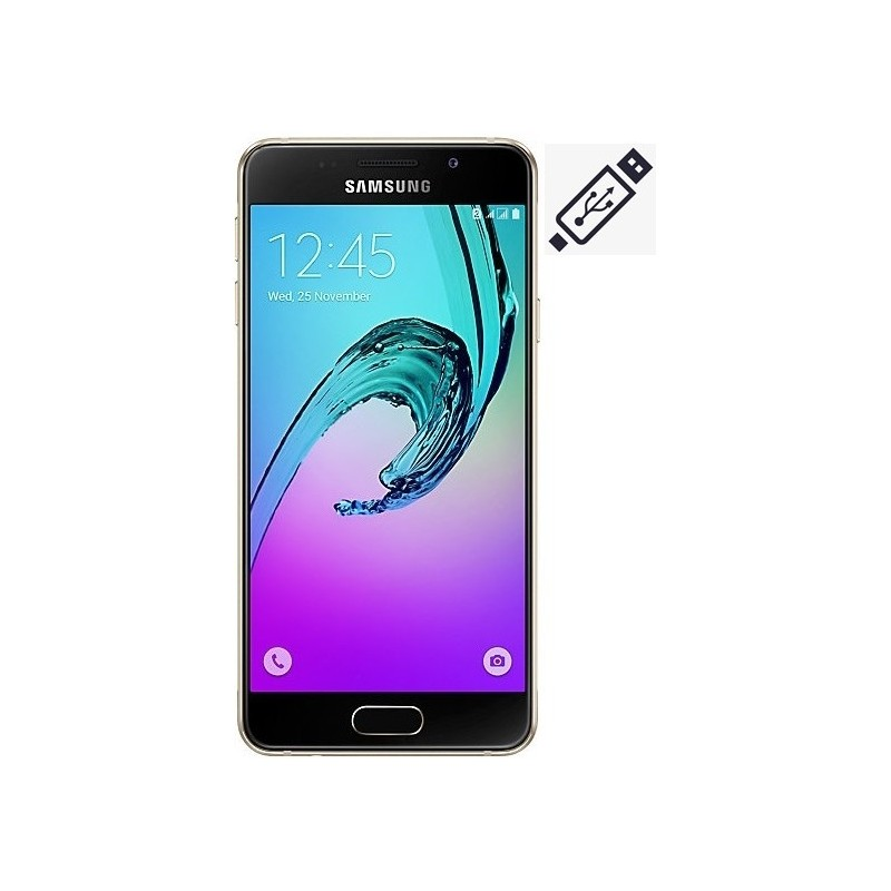 Cambiar Conector de Carga Samsung A3 2016