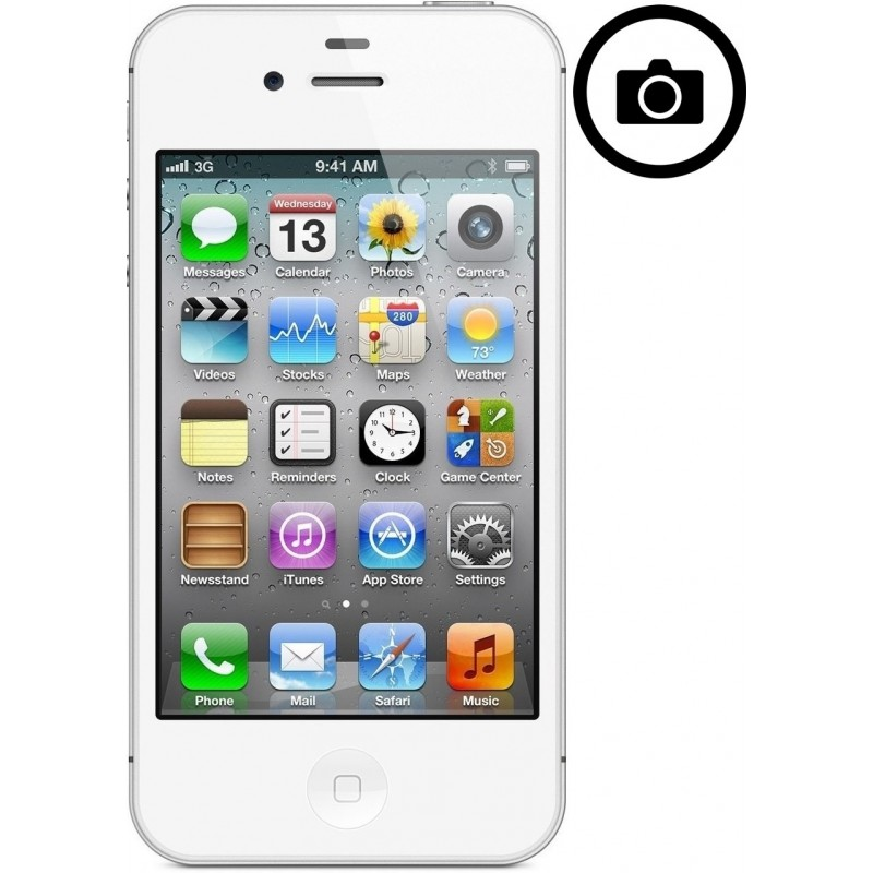 Cambiar Camara Frontal iPhone 4
