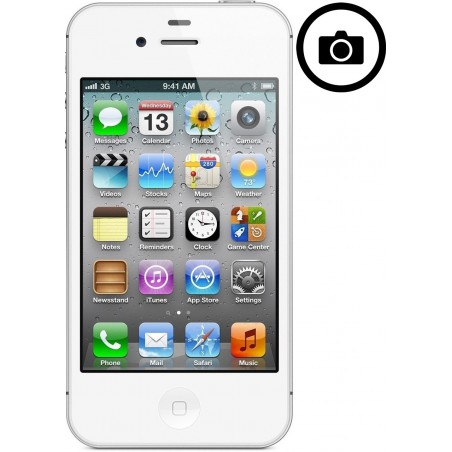 Cambiar Camara Frontal  iPhone 4