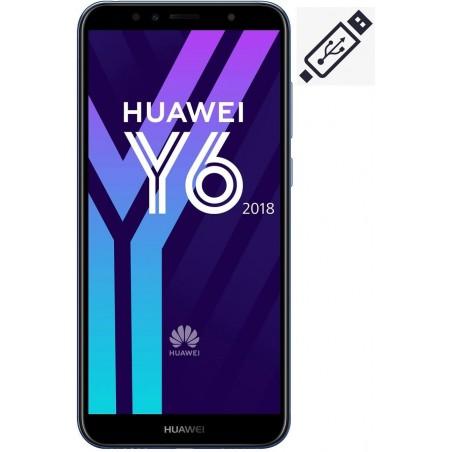 Cambiar Conector de Carga Huawei Y6 2018