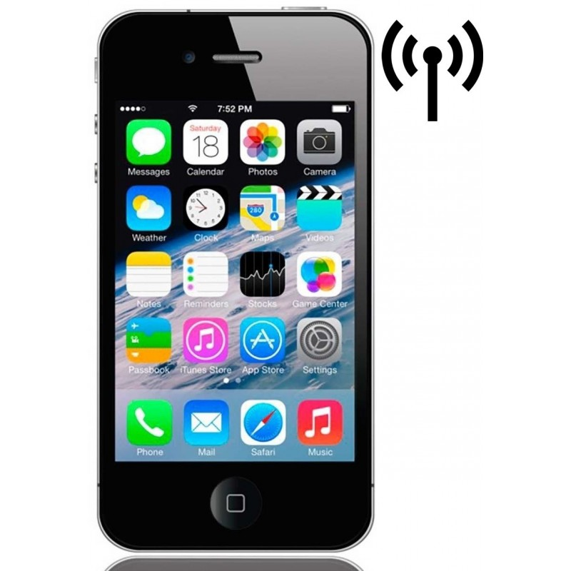 Cambiar Antena Wifi iPhone 4s