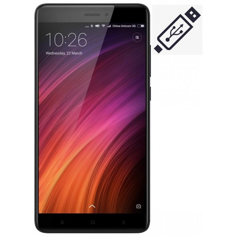 Cambiar Conector de Carga Xiaomi Redmi Note 4