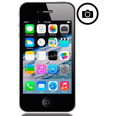 Cambiar Camara Frontal iPhone 4S