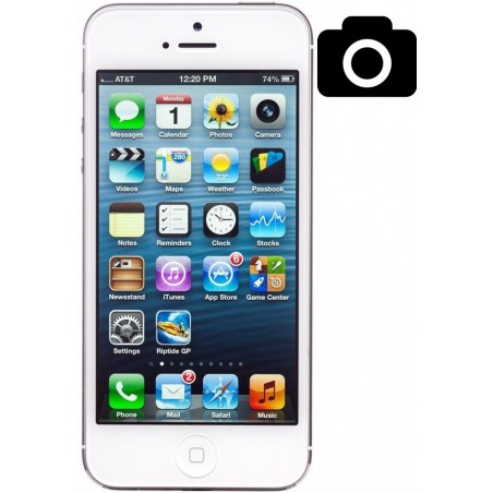 Cambiar Camara Trasera iPhone 5