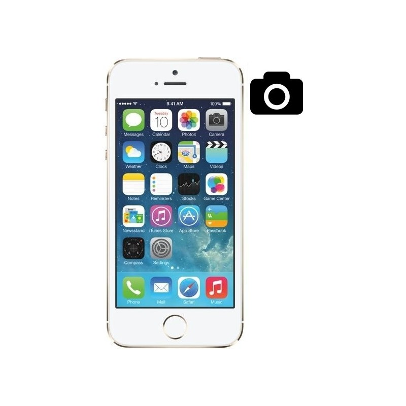 Cambiar Camara Trasera iPhone 5S