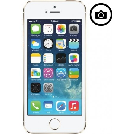 Cambiar Camara Frontal iPhone 5S
